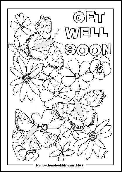 It is an image of Sizzling Get Well Soon Printable
