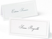 Place Card Templates On Word