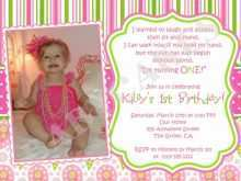 Birthday Invitation Card Sample Text