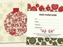 99 Standard Christmas Gift Card Template Download in Word with Christmas Gift Card Template Download