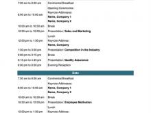 99 Standard Church Conference Agenda Template Formating with Church Conference Agenda Template