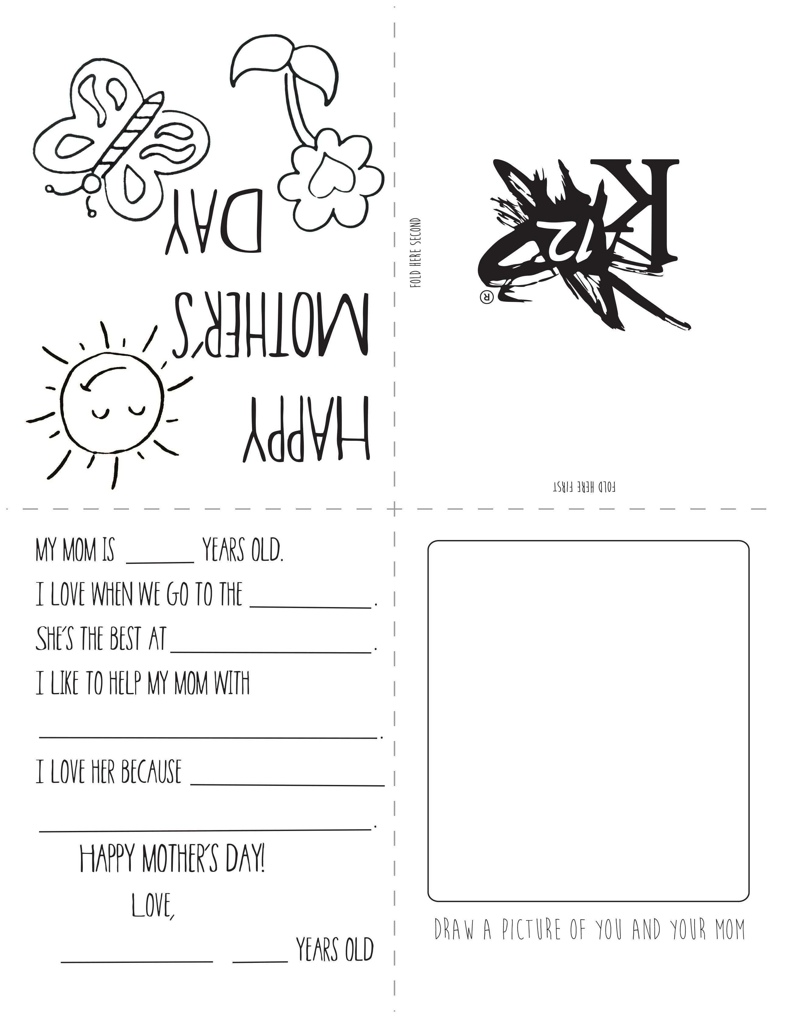 99 Standard Mothers Day Cards Templates Ks2 for Ms Word for Mothers Day Cards Templates Ks2