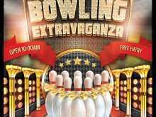 99 The Best Bowling Flyer Template Free Now for Bowling Flyer Template Free