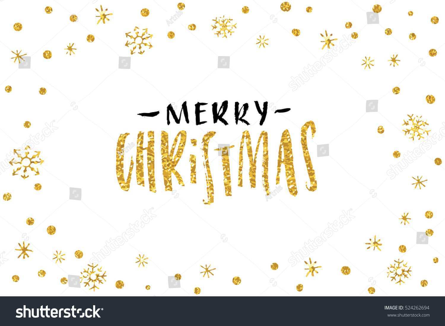 99 The Best Christmas Card Template Gold for Ms Word by Christmas Card Template Gold