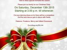 13 Customize Christmas Dinner Invitation Examples in Word for Christmas Dinner Invitation Examples