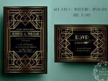 13 Free Gatsby Wedding Invitation Template Free With Stunning Design by Gatsby Wedding Invitation Template Free
