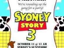 14 Create Toy Story Birthday Invitation Template Download for Toy Story Birthday Invitation Template