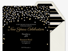 14 Free Printable New Year Party Invitation Template Layouts with New Year Party Invitation Template
