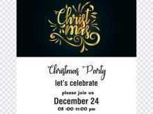 14 Printable Christmas Party Invitation Template Black And White Layouts by Christmas Party Invitation Template Black And White