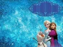 16 Create Frozen Birthday Invitation Blank Template Now by Frozen Birthday Invitation Blank Template