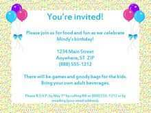 16 Customize Our Free Party Invitation Letter Template Maker with Party Invitation Letter Template