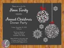 16 Format Annual Holiday Party Invitation Template Maker by Annual Holiday Party Invitation Template