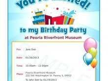 16 Report Birthday Invitation Template In Word Download for Birthday Invitation Template In Word
