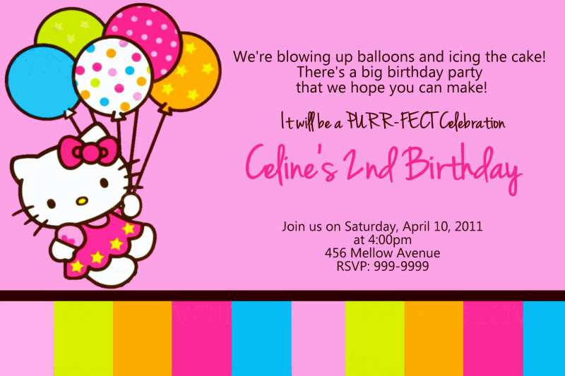 17 Customize Our Free 7Th Birthday Invitation Template Hello