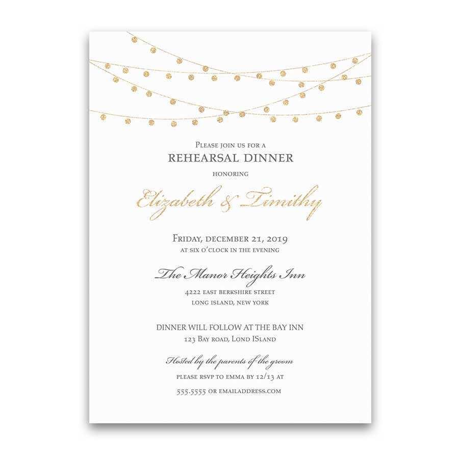 3 Format Elegant Dinner Invitation Template Layouts for Elegant