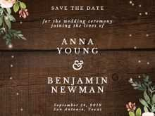 Invitation Card Format Save The Date