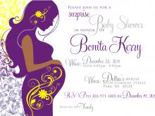 Elegant Baby Shower Invitation Templates