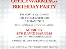 19 Create Birthday Invitation Template Office With Stunning Design with Birthday Invitation Template Office