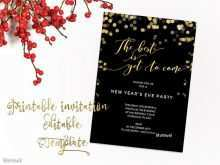 19 Customize Our Free New Year Party Invitation Template Layouts for New Year Party Invitation Template