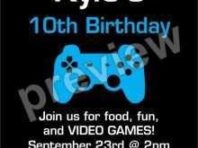 20 Creative Blank Game Night Invitation Template for Ms Word with Blank Game Night Invitation Template