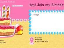 20 Report Birthday Invitation Template Online for Ms Word for Birthday Invitation Template Online