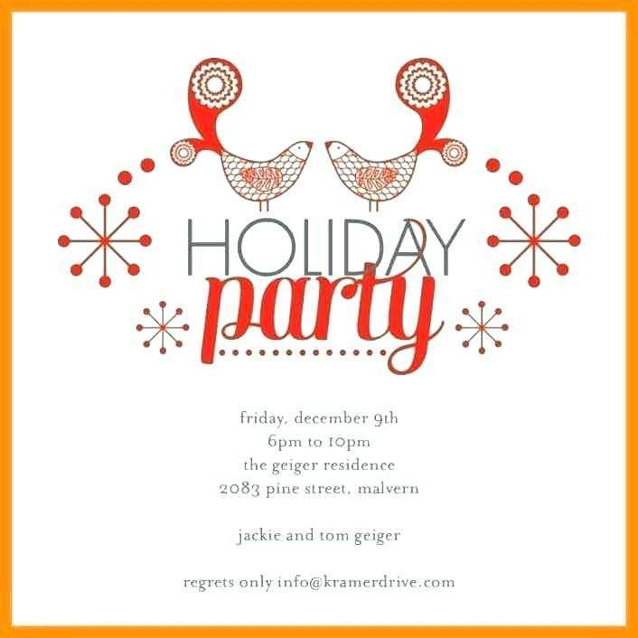 Holiday Party Invitations Template Word from legaldbol.com
