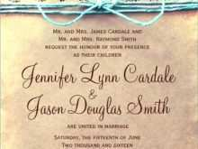 Wedding Invitation Template Download Word
