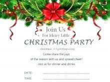 23 Creating Christmas Dinner Invitation Template Word Formating with Christmas Dinner Invitation Template Word