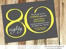 23 Free 80Th Birthday Invitation Template Uk Layouts for 80Th Birthday Invitation Template Uk