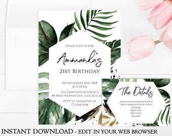 24 Creating Birthday Invitation Templates Etsy PSD File for Birthday Invitation Templates Etsy