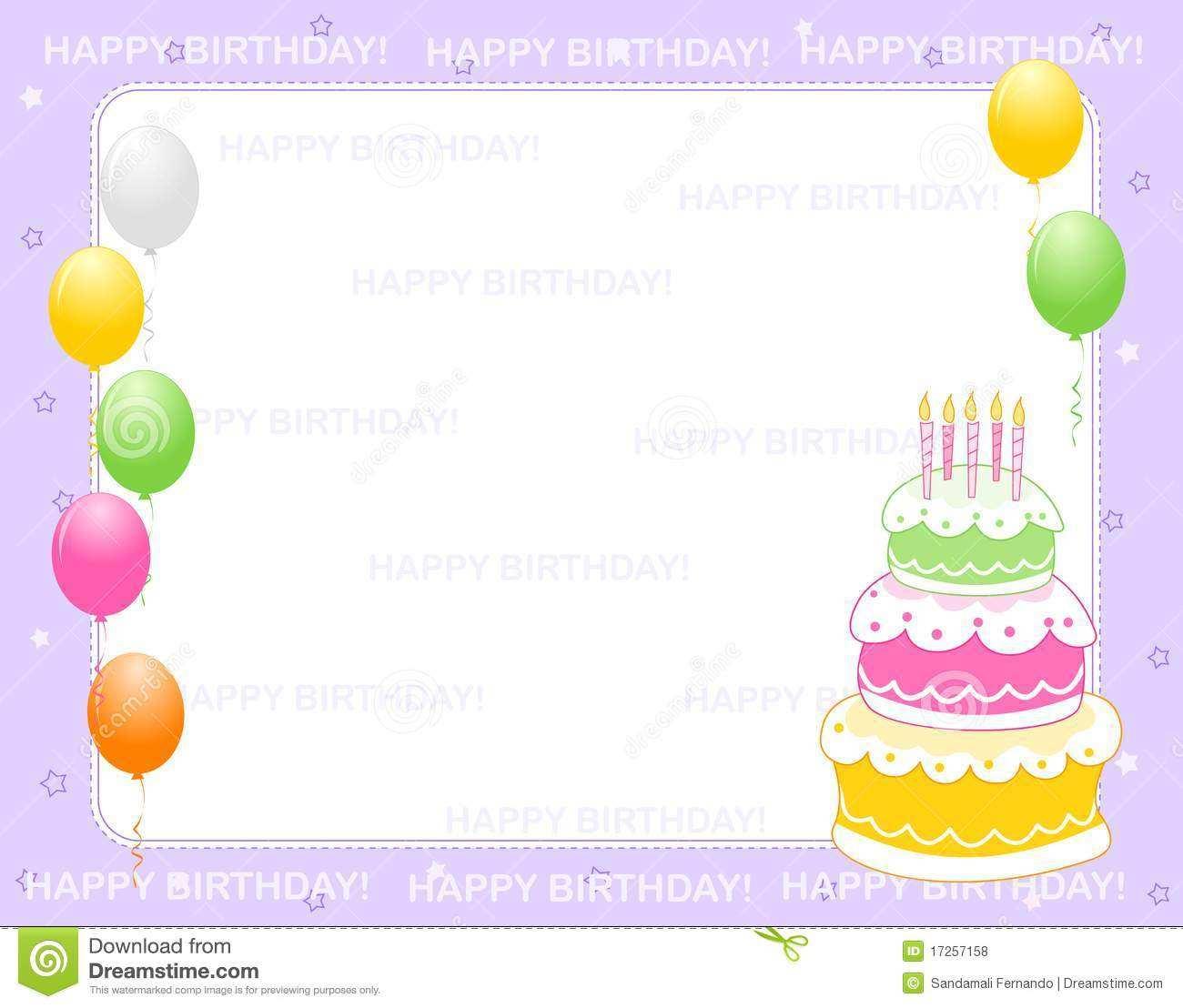 24 Online Birthday Invitation Card Template Word Now with Birthday  Invitation Card Template Word - Cards Design Templates