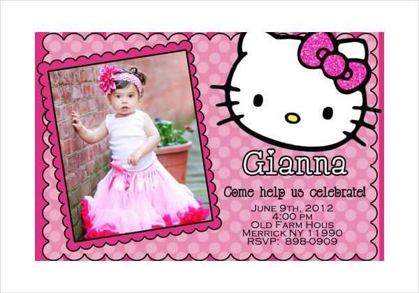 26 Creating 7Th Birthday Invitation Template Hello Kitty for Ms Word for 7Th Birthday Invitation Template Hello Kitty