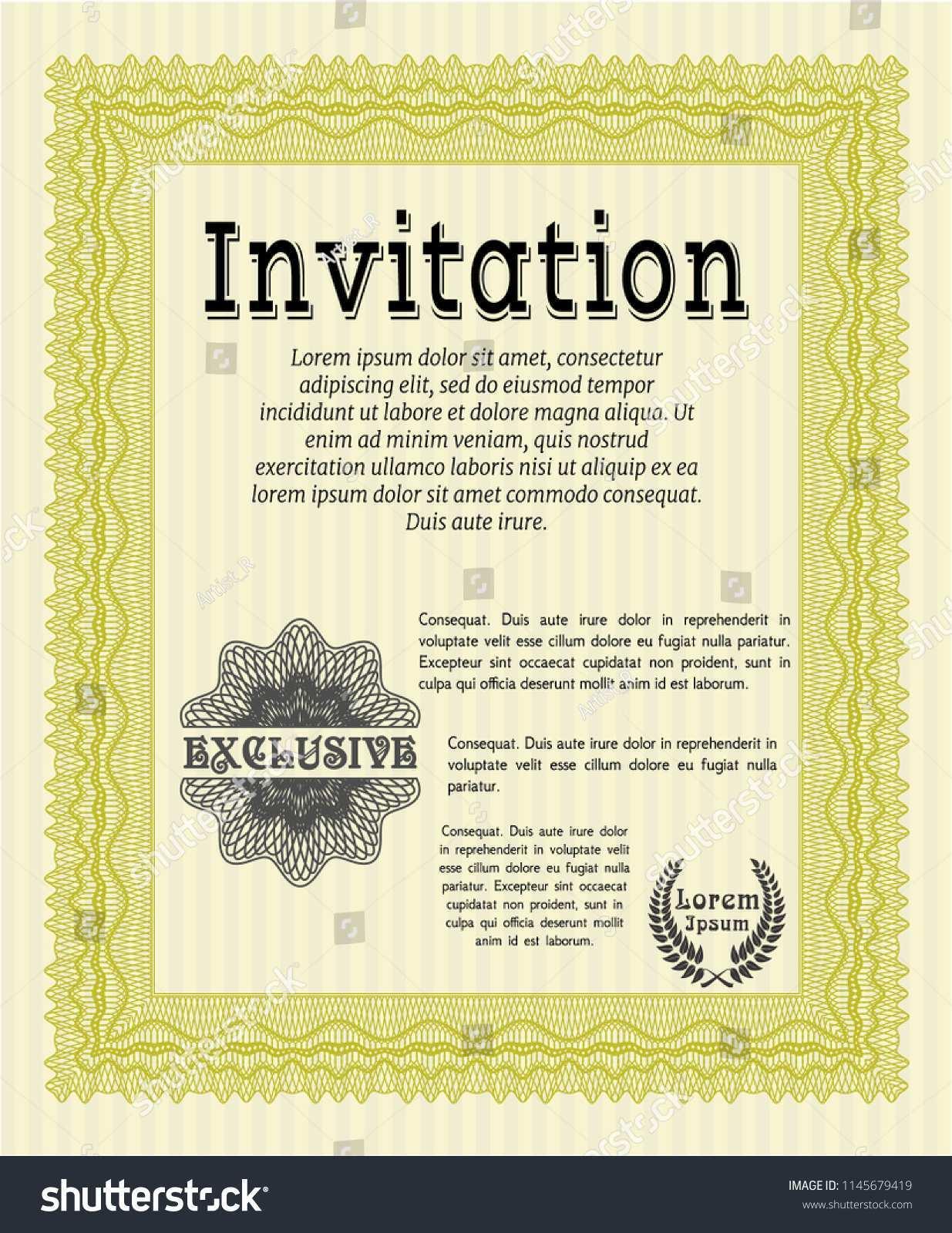 26 Online Formal Invitation Template Vector in Word with Formal Invitation Template Vector