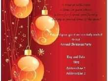 26 Standard Christmas Dinner Invitation Template Word Formating for Christmas Dinner Invitation Template Word
