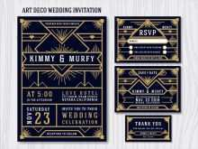 27 Creative Gatsby Wedding Invitation Template Free Photo with Gatsby Wedding Invitation Template Free