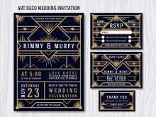 27 Creative Gatsby Wedding Invitation Template Free Photo with Gatsby Wedding Invitation Template Free