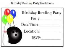 27 Free Printable Birthday Party Invitation Template Bowling in Photoshop by Birthday Party Invitation Template Bowling