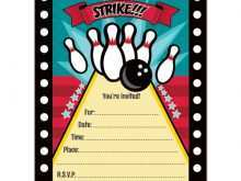 27 Visiting Bowling Party Invitation Template PSD File by Bowling Party Invitation Template