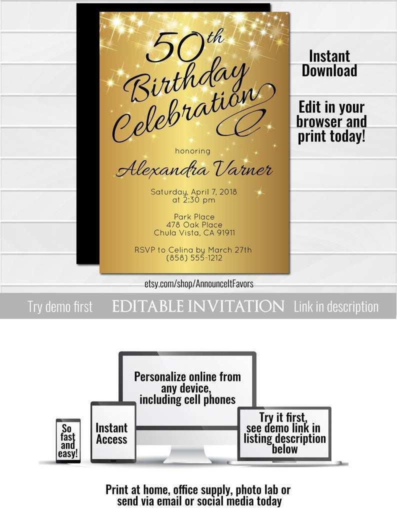 28 Create Birthday Invitation Template Pdf Layouts with Birthday Invitation Template Pdf