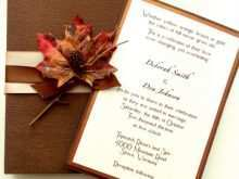 Wedding Reception Invitation Examples