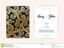29 Free Printable Blank Vintage Invitation Template Download for Blank Vintage Invitation Template