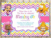 29 How To Create Blank Bubble Guppies Invitation Template Templates for Blank Bubble Guppies Invitation Template