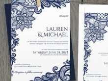 29 Standard Lace Wedding Invitation Template Formating by Lace Wedding Invitation Template