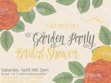 Old Rose Wedding Invitation Template