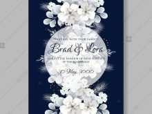 30 Customize Hydrangea Wedding Invitation Template PSD File with Hydrangea Wedding Invitation Template