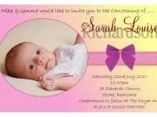 30 Customize Our Free Baby Girl Christening Blank Invitation Template Layouts for Baby Girl Christening Blank Invitation Template