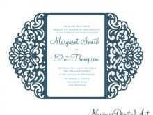 Two Fold Wedding Invitation Template