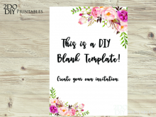 30 Online Blank Invitation Templates Editable With Stunning Design with Blank Invitation Templates Editable