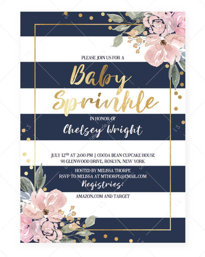 4 Create Kate Spade Birthday Invitation Template Layouts with