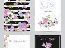 31 Printable Hydrangea Wedding Invitation Template in Word by Hydrangea Wedding Invitation Template